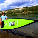 Мировой SUP рекорд на реке Юкон