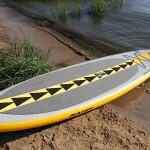 Обзор надувной доски Naish Air SUP Nalu 11′ от Михаила Соловейкина