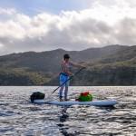 Бэквотерс: сап на острове Санта-Католина