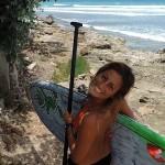 По волнам на Барбадосе