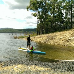 paddle-boarding-gold-coast-hinze-dam-west-ramp