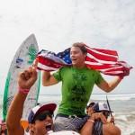Иззи гомес и Шон Пойнтер взяли золото на ISA 2015 в категории сап-серфинг
