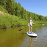 По рекам и озерам – путешествуем налегке