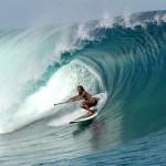 Кеали Мамала по волнам Таити