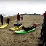 Отчётное видео с прошедшего курса ISA по серфингу