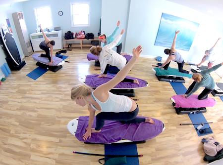 FloorTime-Studios-Indoor-SUP-Yoga