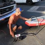 Электронасос — отличное решение для владельцев надувастика