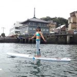 Девушки и SUP: Такайо Йокояма