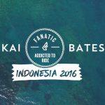Кай Бейтс в Индонезии 2016
