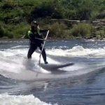 Трюки на бурной воде