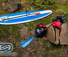 Gear required to run a river on a SUP (Starboard SUP, Werner Pad