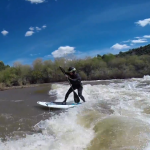 Серфинг на реке Долорес