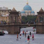 Фестиваль «Фонтанка-SUP» покорил сердца петербуржцев