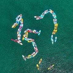 SUP DAY Vladivostok 157 years flashmob