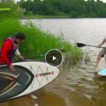 Репортаж канала МИР 24: Сапсерфинг – греби веслом и всем «алоха»