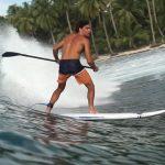 Сап-серфинг от Натана Кросса