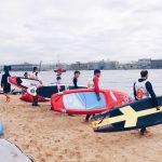 Первенство по SUP серфингу «5 Океан»