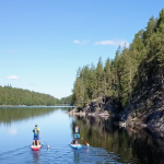 Сап-туринг в Финляндии