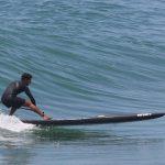 Сап-серфинг Дейва Боэна на 14-футовой доске
