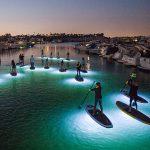 Ночной падлбординг: прогуливаемся по воде в полной безопасности