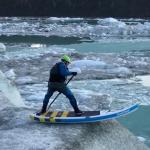 Спенсер Лейси во льдах Аляски