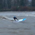 Речной Sup Surfing