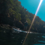 Вдоль Тихоокеанского побережья на сапе… с мотором!