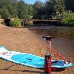 Сап с препятствиями по реке Сестре