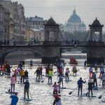III Фестиваль сёрфинга с веслом «Фонтанка-SUP» 2018
