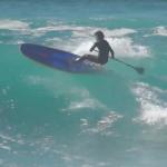 Сап-серфинг на лонгборде от Бенуа Карпентера
