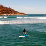 Бесконечный сап-серфинг на гидрофойле в Австралии