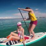 Итальянские берега для SUP завоевателей
