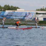 SUP на Кубке Федерации по гребле на байдарках и каноэ города Москвы