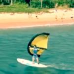 WingSurfing на SUP-борде!