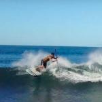 Дейв Боэн на волнах Южной Калифорнии