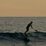 SUP-фоил серфинг с Зейном