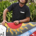Новое развлечение на Гавайских островах: Stand up paddle boarding.