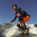 Лучший серфинг в жизни Люка Хопкинса