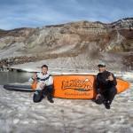 SUPы и каяк в кратере вулкана: официальный отчет
