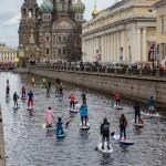 Отчет об Открытии сап-сезона 2016 в Санкт-Петербурге