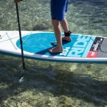 Red Paddle Co тестируют доски необычными способами