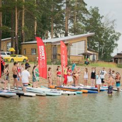 SUP DAY Novosibirsk race start