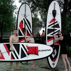 SUP DAY Ulyanovsk people
