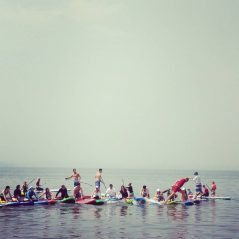 SUP DAY Vladivostok running on the boards