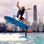 Гидрофойл и SUP-вейк серфинг в Чикаго