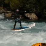Спенсер Лейси на бурной воде в Чили