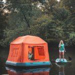 Плавучая палатка для ваших путешествий