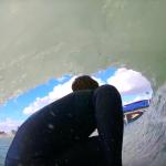 Кай Ленни тестирует искусственную волну