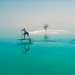 Гидрофоилинг на Мертвом море