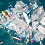 Любители SUP-серфинга открыли сезон во Владивостоке